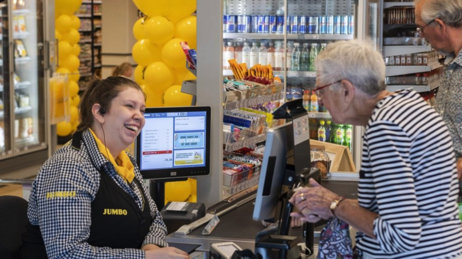 "Dutch supermarket introduces a unique ""Chat Checkout"" to help fight loneliness"